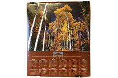 Black Butte Ranch Aspen 2004 Calendar Poster With 2003 Fire Progression Guide