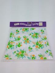 Vtg PRIMSTYLE Waterproof Lining Zip Bag 60s 70s Floral Woolworth Woolco NIP