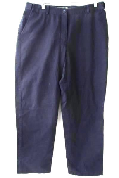 Dress Pants by L.L. Bean- Navy Blue, Women's Size 10 (REG)