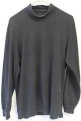 Turtleneck Shirt by Eddie Bauer- Grey, Men's Size S