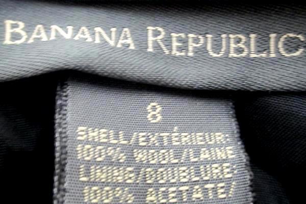 Banana Republic Women's Skirt Black In Color Size 8