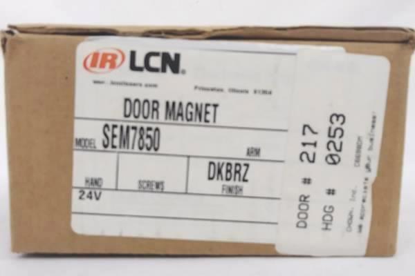 SEM7850 LCN Electromagnetic Door Magnet Dark Bronze