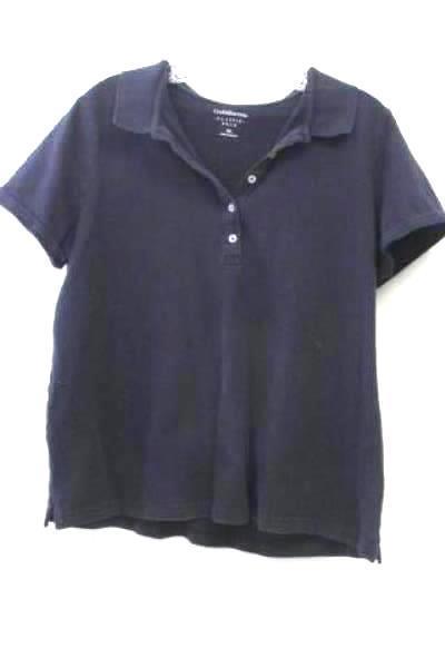 Men's Dark Blue Short Sleeve Polo Shirt By Croft & Borrow Size XL