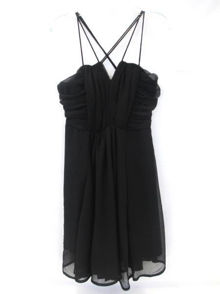 Black Spaghetti Strap Dress by Love Fire Women's Size XS