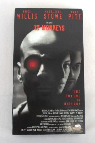 Lot of 2 Bruce Willis VHS Movies 12 Monkeys & Bandits