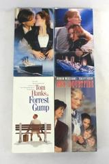 Lot of 4 Family VHS Movies Forrest Gump Mrs. Doubtfire Titanic Parts 1&2