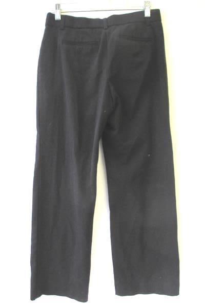 Apt.9 Women's Black Dress Pants Two Latch Closure Zipper 4 Pockets Size 4PS