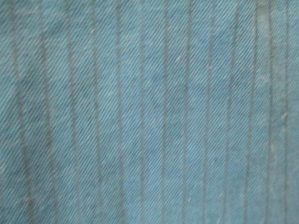 Van Heusen Men's Collared Long Sleeve Dress Shirt Dark Blue Size L(16-16 1/2)