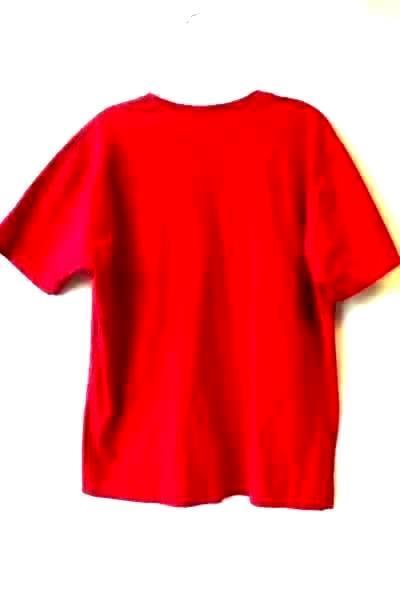 Preview International Women's Red T-Shirt Cotton Short Sleeves Size Large