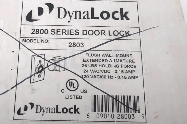 DynaLock 2800 Series Magnetic Door Lock Assembly Switch 2803