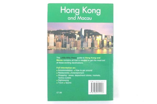 Hong Kong and Macau Little Hills Press Travel Guides Paperback Third Edition