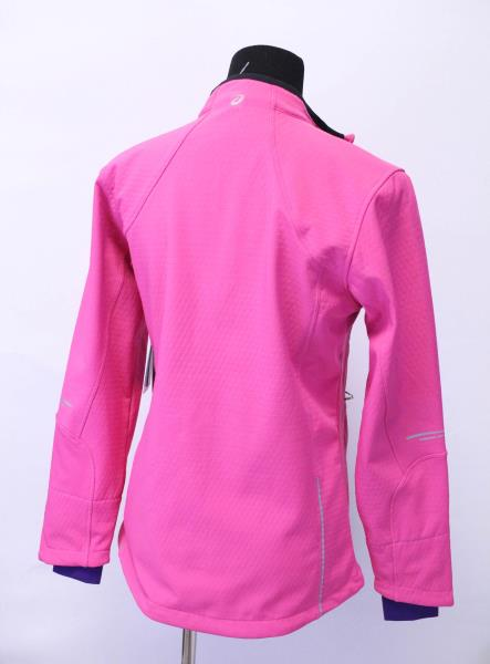 Asics Berry Color Ultra Runner Jacket Womens Medium New Original Tags