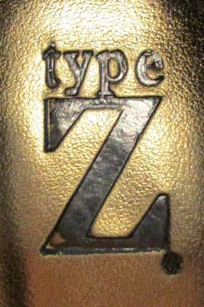 Type Z Peep Toe Metallic Gunmetal Silver High Heels 6 1/2 Mesa Sassy