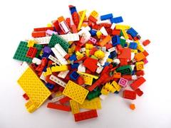 3/4 + Pound LEGOS Multi Color Variety of Bricks, Specialty Pieces & Plates