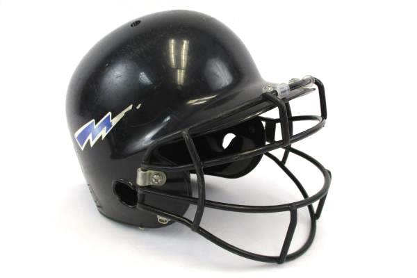 Schutt 2898 Pro-Guard Softball Batters Helmet with Face Guard OSFA Black
