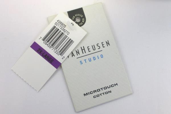 Men's Van Heusen Cotton Blend Short Sleeve Golf Polo Shirt Size 2XL*With Tag*
