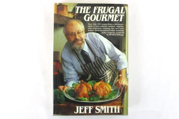 Lot of 3 Vintage Cookbooks Garlic Lovers Cookbook Frugal Gourmet Gold Cook Book