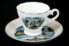 Vintage LITTLE AMERICA Wyoming Cup And Saucer