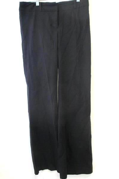 Women's Dress Pants Black by Tempted Stretch Clasp Closure No Pockets Size 7
