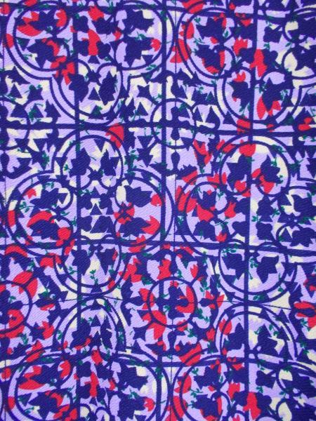 "LULAROE ""Cassie"" Pencil Skirt ~ Purple Floral Print ~ Polyester Crepe Sz XS"