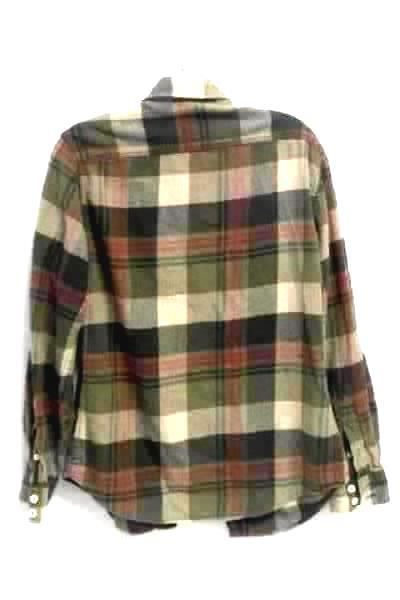 Men's Multicolored Plaid Shirt By Mossimo Supply Co. Size S