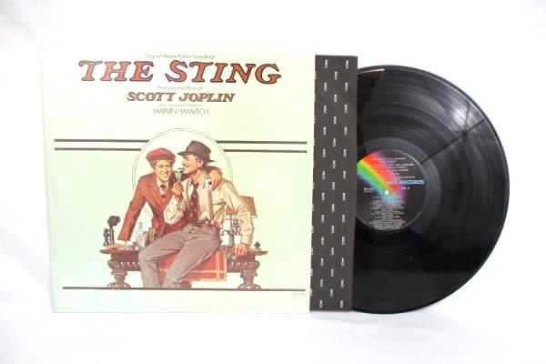 "Original Motion Picture Soundtrack ""THE STING"" Scott Joplin LP Record MCA-2040"