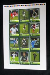 2012 MLS Portland Timbers Franz Uncut Card Sheet Nagbe, Chara Brunner  VF