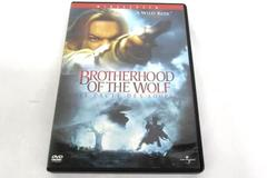 The Brotherhood of the Wolf DVD, 2002 Widescreen
