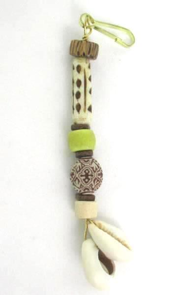 3 Love Those Beads Beaded Butterfly Tepee Seashell Zipper Pull Stocking Stuffer
