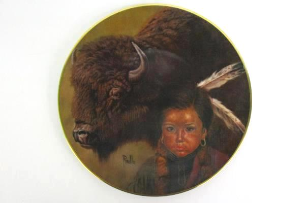 "Kern Collectibles 1980 ""Buffalo Boy"" Limited Edition Plate 3337"