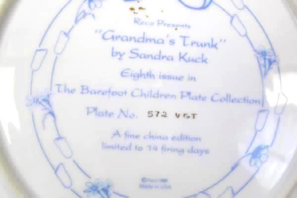 Painted Plate by Reco Grandmother Trunk 8th Plate In The Collection