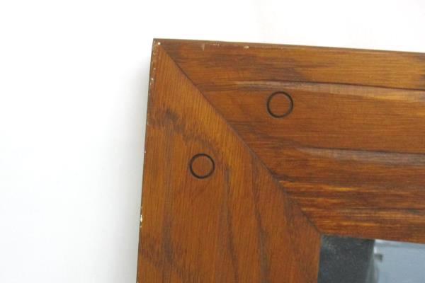"Vintage Mid-Century Modern Drexel Accolade Mirror Wall Dresser Wood 22"" x 28"""