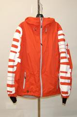 ThirtyTwo 32 Men's Shiloh 2.0 Shell Snowboard Jacket - Mens S - Orange Spell Out