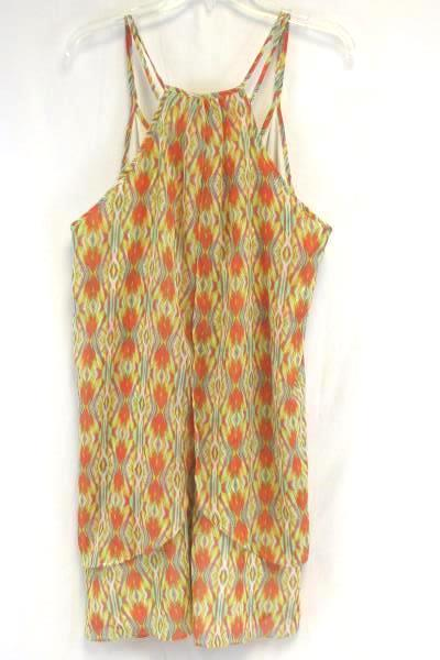 Bisou Bisou Michele Bohbot Sleeveless Top Multicolor Women's Size 16