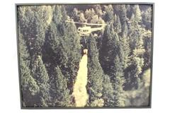 "Framed Print Evergreen Helicopter Fire and Rescue in Flight 15-1/4"" x 19-1/4"""