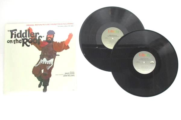 Lot Of 4 Sound Track Vinyl Records 33.3 RPM Around The World In 80 Days Oliver
