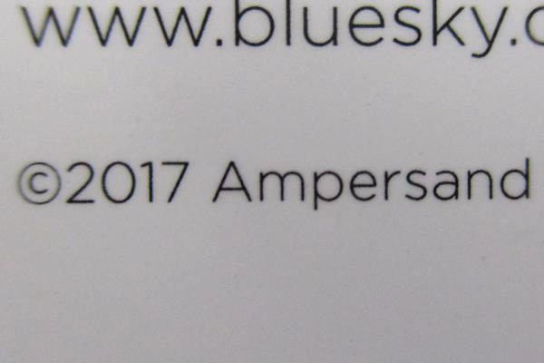 Blue Sky Ampersand 2018 2019 Academic Calendar Planner Weekly Fashion Gold Brush