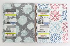 """2 NEW At-A-Glance Academic 2018-19 Planner My Week 8.5"""" x 11"""" Floral Multicolor"""