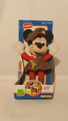 "Playskool 10"" Plush Scottish Mickey Mouse Mickey's World Tour Collection"