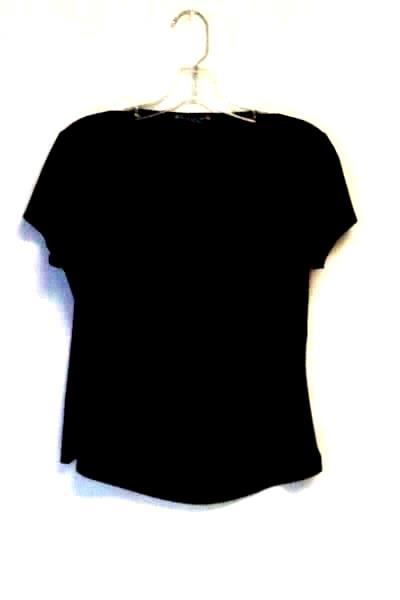 Women's Black Top By Suzie In The City Size L