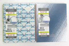 """Lot of 2 At-A-Glance Academic 2018-19 Planner My Week 8.5"""" x 11"""" Blue Gray Scale"""