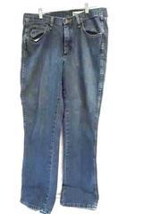 Men's Wrangler Blue Jeans Size 33X34