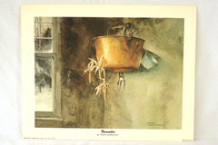 Frank M. Hamilton NOVEMBER Litho Print by Arthur A Kaplan