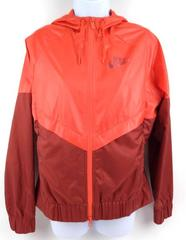NIKE Windrunner Running Jacket Max Orange/Dark Cayenne 804947-852 Women's SMALL