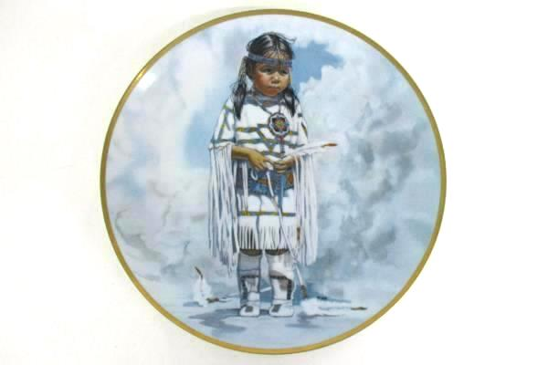 """Crow Baby"" Plate Art By Penni Anne Cross from Crown Parian"