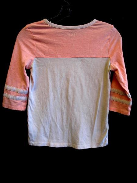 Graphic T-Shirt By Cat&Jack Pink Grey 60% Cotton Girl's Size L  (10-12)