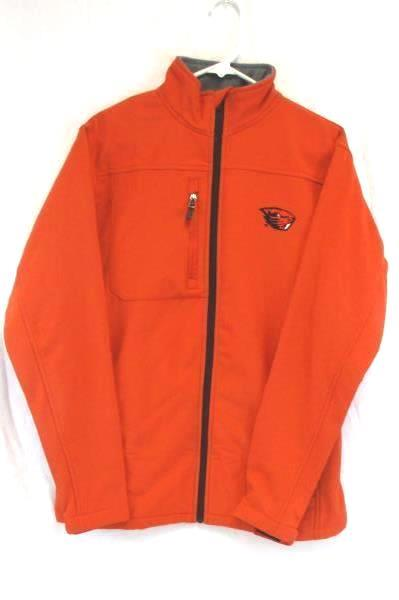 Men's Knights Apparel Beavers College Football Softshell Jacket Zip OSU Sz M
