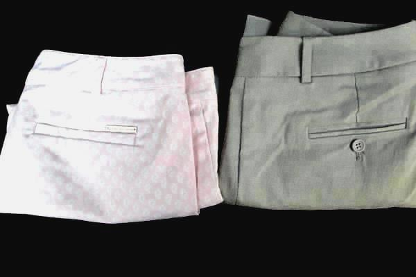 Lot Of 2 Women's Multi-Colored Pants By Micheal Kors & The Limited Size 2