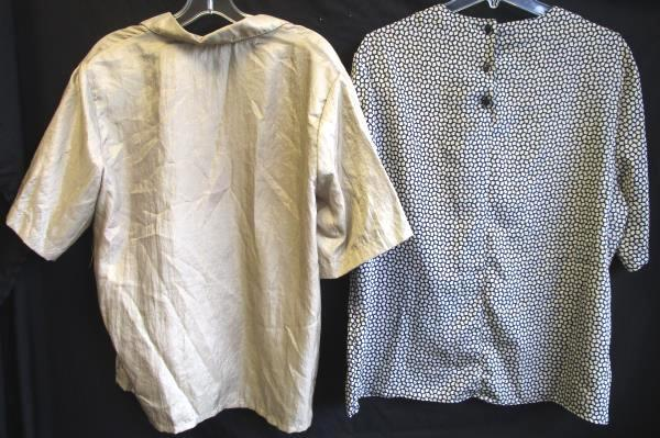 Lot of Women's Multi-Colored Blouses Button Up By Russ And Jonquil Size 18