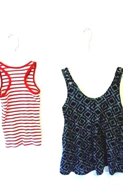 Lot Of Women's Multi-Colored Tank Tops By H&M And Faded Glory Size M
